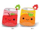 【奇買親子購物網】拉孚兒 蘋果汁/橘子汁沙沙紙玩具+固齒器