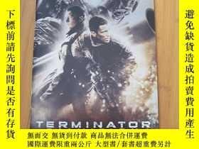 二手書博民逛書店終結者2018罕見Terminator Salvation 電影場刊 日文版Y178456 喬納森·諾蘭