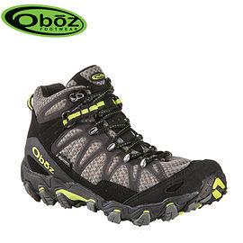 丹大戶外【Oboz】美國 Traverse Mid BDry 男款 防水戶外中筒登山鞋 OB21601 DASH黑影色