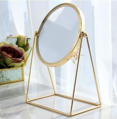 玻璃化妝品收納盒非亞克力桌面透明歐式梳妝台簡約護膚化妝鏡整理