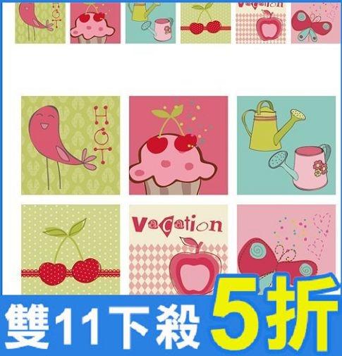 家飾壁貼-開關貼U系列 1套6張  AF01013-718【AF01013-718】i-Style居家生活