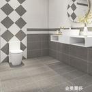 地貼牆貼廁所浴室瓷磚貼紙耐磨防滑衛生間防...