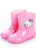 Hello Kitty兒童雨鞋女童雨靴小童防滑公主可愛幼兒輕便寶寶水鞋優品匯