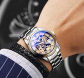 手錶男士全自動機械錶鏤空男錶時尚潮防水2018新款腕錶