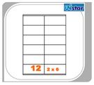 【西瓜籽文具】裕德 電腦標籤 12格 US4457 100張 三用標籤 列印標籤