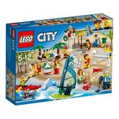 LEGO 樂高City Town People Pack –Fun At the Beach 60153 169 Piece