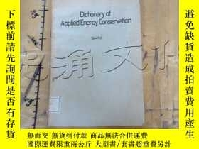二手書博民逛書店Dictionary罕見of Applied Energy Co