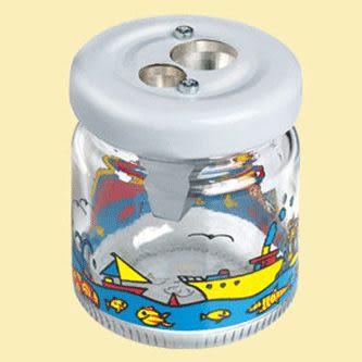 德國M+R削筆器(玻璃瓶雙孔)