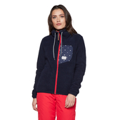PROTEST 女 長袖保暖外套 (地表藍) BAIANA FULL ZIP TOP