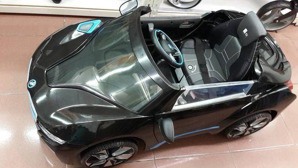 馬克文生-兒童電動車-寶馬BMW--i8 原廠授權 遙控電動車--單驅