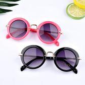 兒童太陽鏡 眼鏡男童女童墨鏡正韓個性韓版小孩防紫外線寶寶眼睛