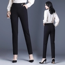 版型極佳 西裝長褲女職業裝OL西褲S-4XL哈倫褲褲大碼彈力顯瘦小直筒女褲子GR241A快時尚