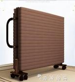 簡易折疊床單人雙人便攜家用午睡陪護辦公室躺椅成人午休1.2米床 WD 時尚潮流