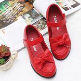 (百貨週年慶)皮質女童皮鞋單兒童鞋公主鞋中大童休閒百搭平底童鞋