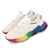 adidas 休閒鞋 Ozweego Pride LGBTQ 白 彩虹 彩色 男鞋 女鞋 老爹鞋 運動鞋 【PUMP306】 EG1076