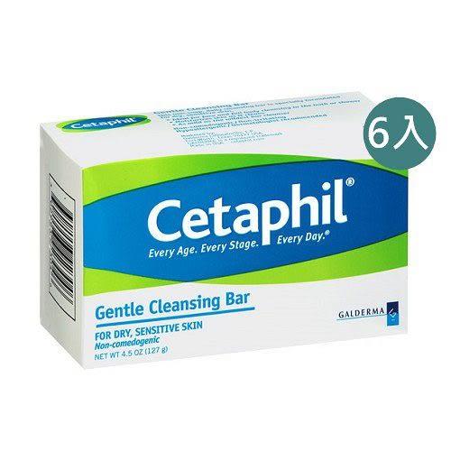 Cetaphil 舒特膚 溫和潔膚凝脂 127g六入組