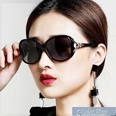 墨鏡墨鏡女韓版網紅太陽鏡女偏光鏡圓臉長臉明星款防紫外線太陽眼鏡女 快速出貨