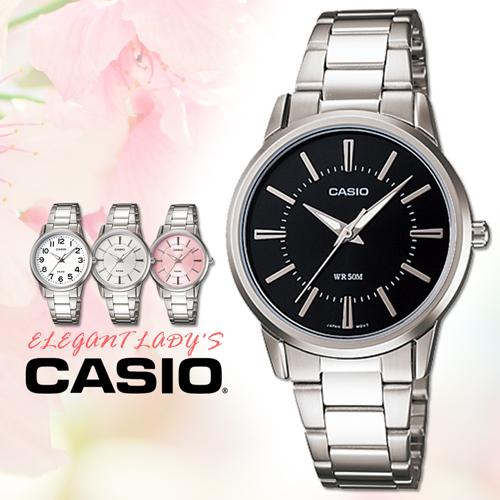 CASIO手錶專賣店 卡西歐  LTP-1303D-1A 女錶 指針表 不繡鋼錶帶 強力防刮花礦物玻璃 50米防水