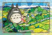 【拼圖總動員 PUZZLE STORY】五月的晴天 日本進口拼圖/Ensky/龍貓/300P/透明塑膠