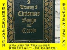 二手書博民逛書店christmas罕見songs and carols聖誕歌曲精