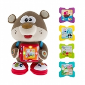 Chicco雙語故事學習玩具熊(英/義)【最受全球寶寶歡迎!】 TwinS伯澄