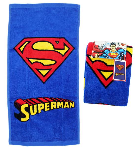 【卡漫城】 超人 標誌 小毛巾 三條一組 ㊣版 Superman DC漫畫 毛巾 洗澡 洗臉巾 擦手巾 童巾 純棉