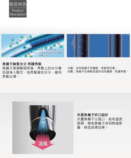 Panasonic 國際牌 1400W負離子吹風機 EH-NE21 **免運費**