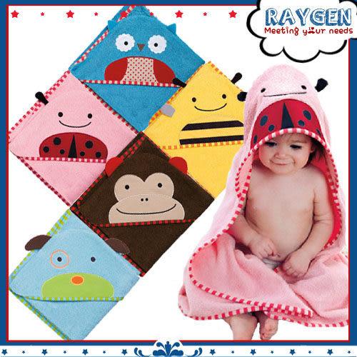 可愛動物系列造型浴巾/連帽式浴巾/包巾