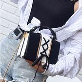 包包新款韓版潮個性創意百搭簡約迷你女士手提小包單肩斜挎包 【販衣小築】