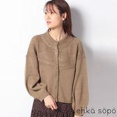 ❖ Autumn ❖ 麻花辮圓領針織罩衫 (提醒➯SM2僅單一尺寸) - Sm2