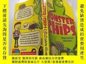 二手書博民逛書店Monster罕見and chips:怪物和薯條Y212829