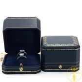 珠寶首飾包裝盒對戒盒子求婚高檔項鏈盒子戒指盒【雲木雜貨】