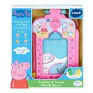 【 英國 Vtech 】粉紅豬小妹 - 音樂字母感應學習畫板╭★ JOYBUS玩具百貨