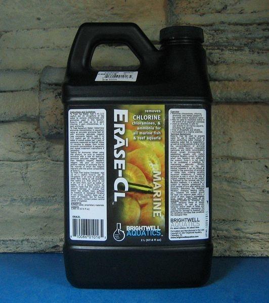 【西高地水族坊】美國BWA Erase-CL超濃縮強效水穩/水質穩定劑2L(淡.海水皆可使用)
