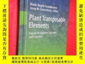 二手書博民逛書店Plant罕見Transposable Elements: Im