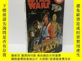二手書博民逛書店DK罕見Readers L1: Star Wars: Who Saved the Galaxy?Y22565