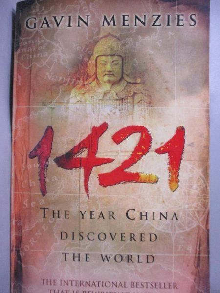 【書寶二手書T3/歷史_ONZ】1421: The Year China Discovered the World_ME