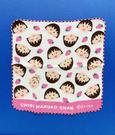 【震撼精品百貨】CHIBI MARUKO CHAN_櫻桃小丸子~小丸子紗布手帕/方巾-粉草莓#55050