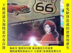 二手書博民逛書店Haunted罕見Route 66: Ghosts of Ame