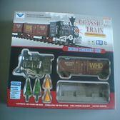 古典電動軌道火車組/模型玩具