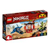 71703【LEGO 樂高積木】旋風忍者系列 Ninjago - 風暴戰鬥機之戰 (165pcs)