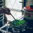 日本授權鍋小姐進口家用燒烤網明火直用三明治烤網烤魚烤肉夾子網 快速出貨