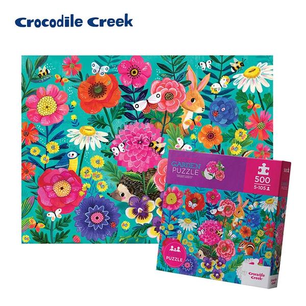 《美國Crocodile Creek》家庭主題拼圖-祕密花園