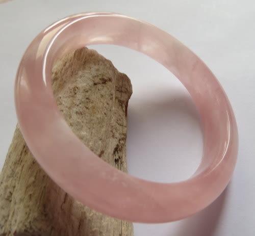 天然粉晶手鐲#0469 56.4mm