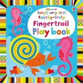 Baby's Very First Touchy-Feely Fingertrail Play Book 寶貝的第一本翻翻觸摸操作書:動動手