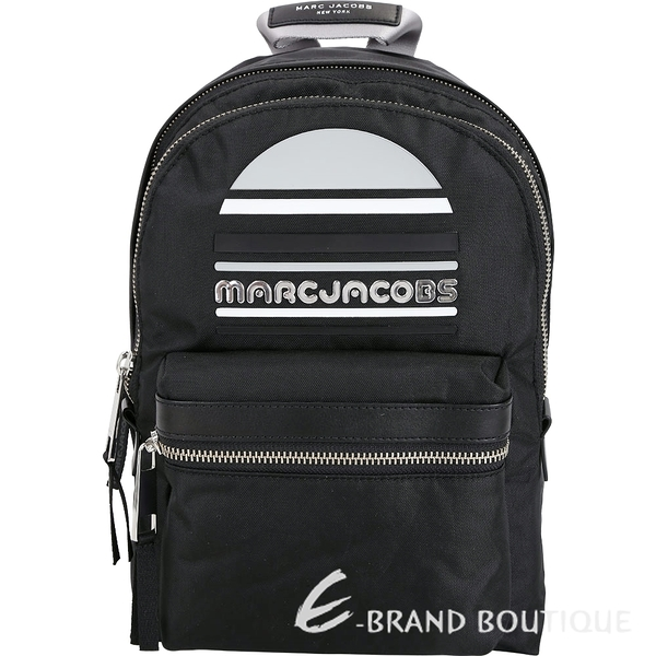 MARC JACOBS Trek Pack Sport 輕質高性能尼龍後背包(中/黑色) 1840040-01