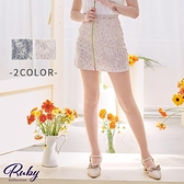褲裙 滿版花朵蕾絲褲裙-Ruby s 露比午茶