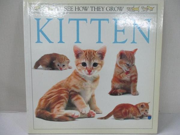 【書寶二手書T7/寵物_DWJ】Kitten