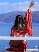 民族風圍巾超大防曬披肩夏季薄款外搭絲巾女士百搭海邊紗巾沙灘巾方巾  怦然心動