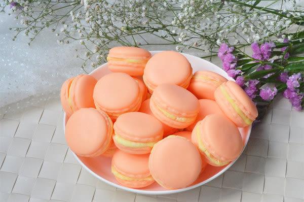 香草哲雪甜橙馬卡龍手工皂